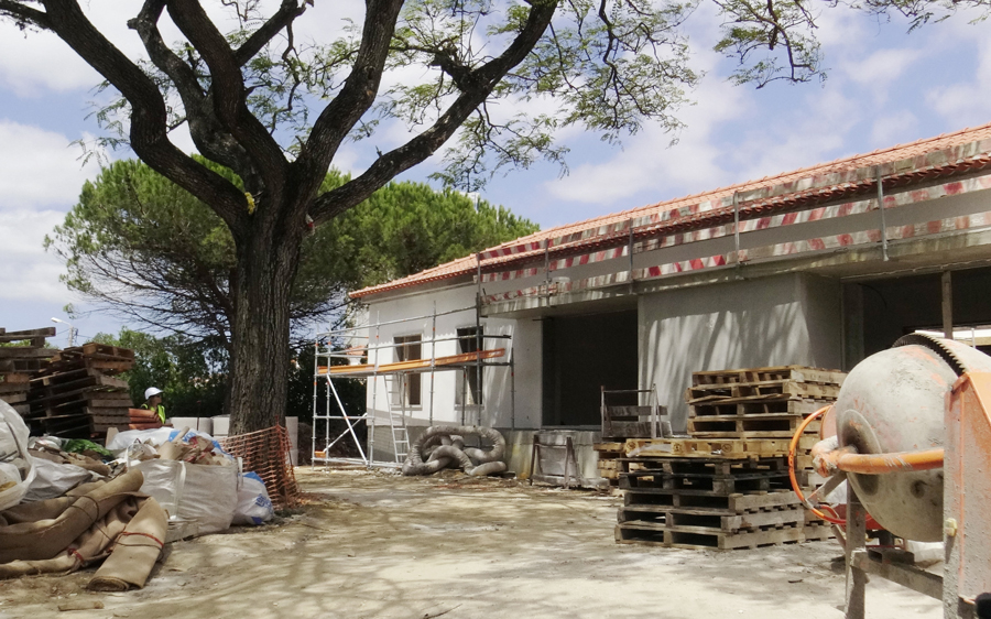 Villa in Cascais construction - VerdeOeste
